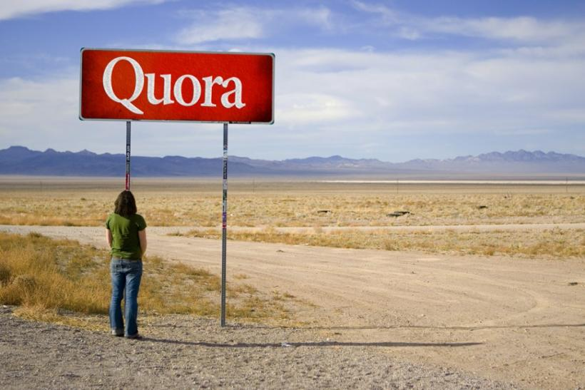 Quora will look to compete with Wikipedia's popularity