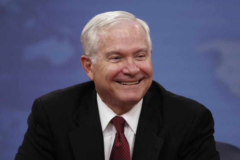 U.S. Secretary of Defense Robert Gates