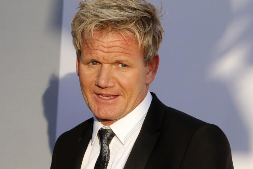 Chef Gordon Ramsay arrives at the BAFTA Brits to Watch event in Los Angeles