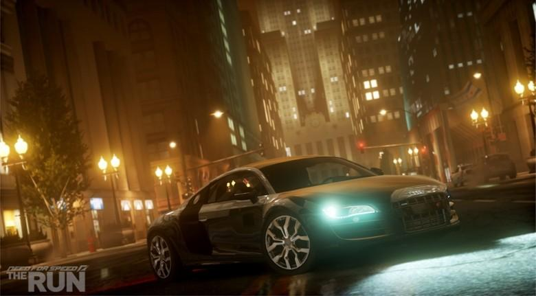 A Audi R8 Coupé 5.2 FSI Quattro from NFS: The Run