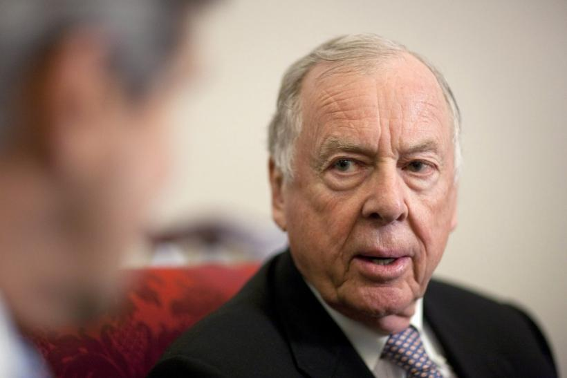 Financier T. Boone Pickens