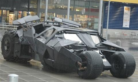 The Dark Knight Rises Teaser Trailer Photos, Batmobile, and More (Photos)