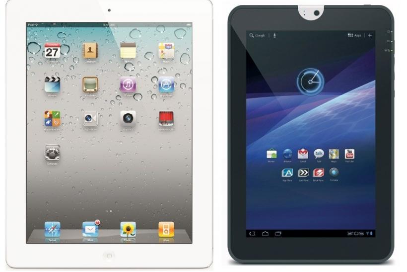 Tablet War: Toshiba Thrive Vs. Apple iPad 2
