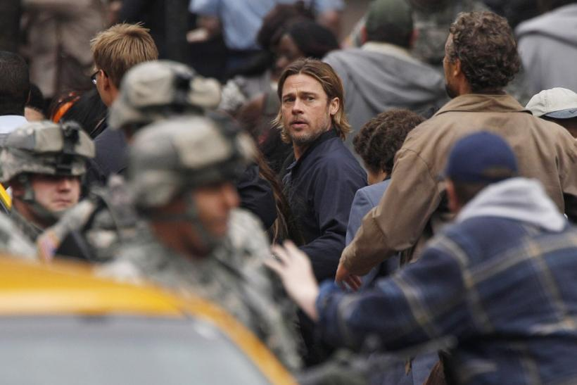 Pitt In 'World War Z'