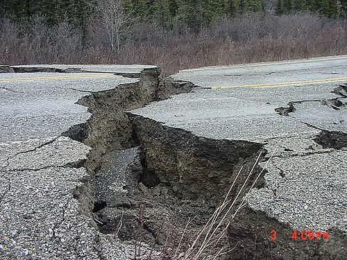 Earthquakes have recently struck Alaska and Southern California
