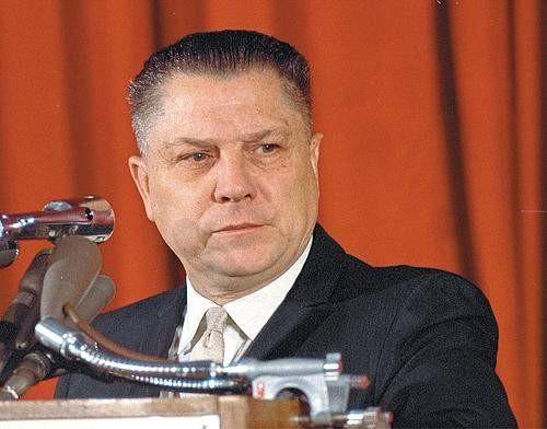 The legendary Jimmy Hoffa.