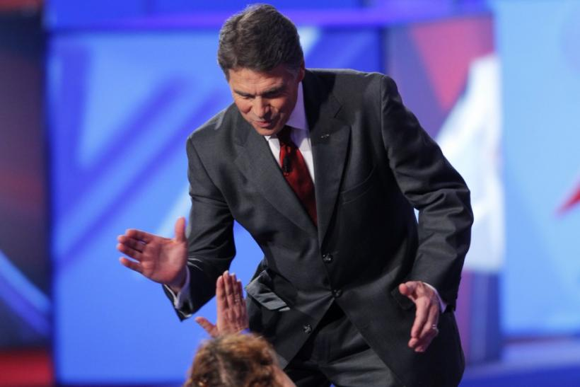 Rick Perry in Tea Pary Debate