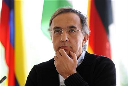 Sergio Marchionne, chief executive officer of Fiat