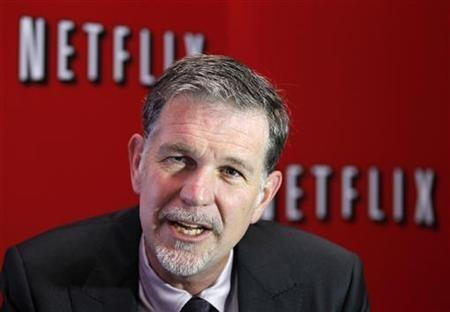 Netflix's Chief Executive Officer Reed Hastings