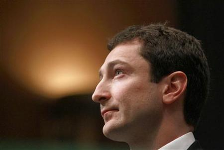 Fabrice Tourre of Goldman Sachs prepares to testify in Washington