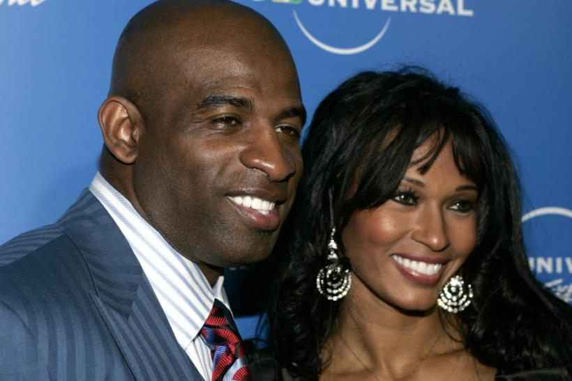 Former NFL player Deion Sanders and his wife Pilar