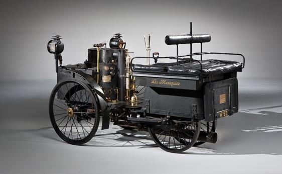 The 1884 De Dion-Bouton Et Trepardoux Dos-A-Dos Steam Runabout