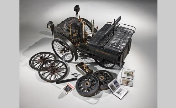 La Marquise, world's oldest car up for auction.
