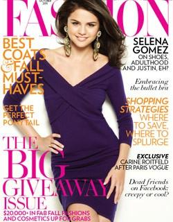 Selena Gomez Covers Canada's Fashion magazine