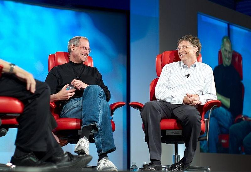 Steve Jobs and Bill Gates History
