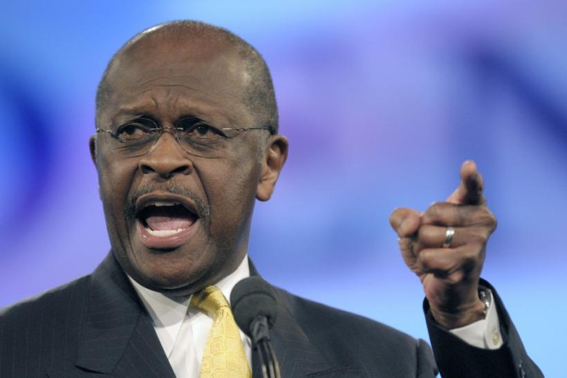 Republican presidential nomination candidate Herman Cain.