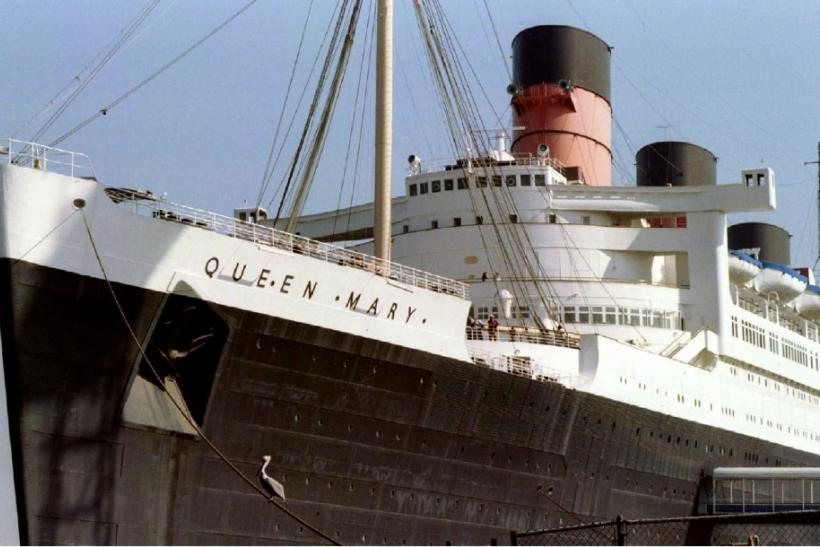 The Queen Mary's Dark Harbor: Long Beach, CA