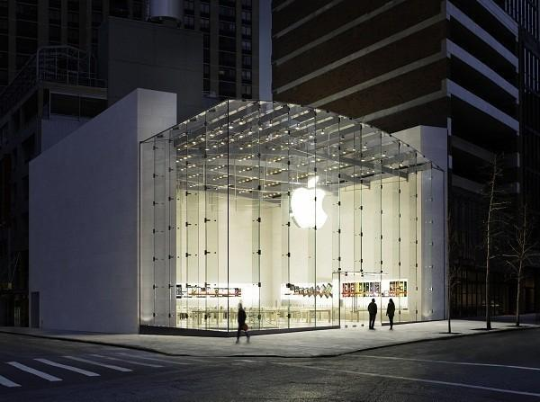 Apple's store in Upper West Side of New York City