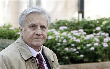European Central Bank President Trichet arrives at the European Union summit in Brussels