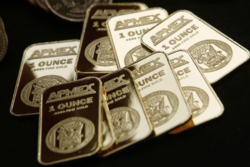 Gold bullion from American Precious Metals Exchange
