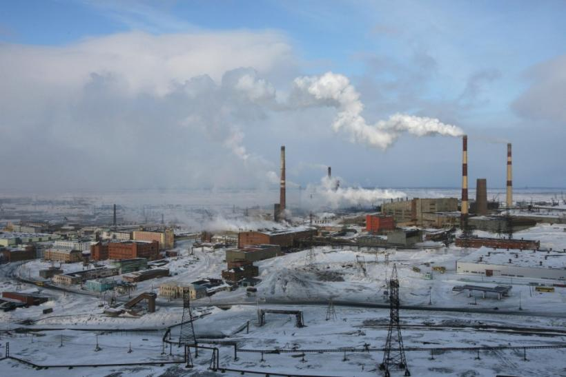 Norilsk Nickel facility in Russia