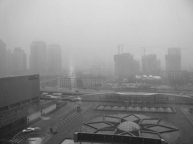 Pollution in Beijing, China