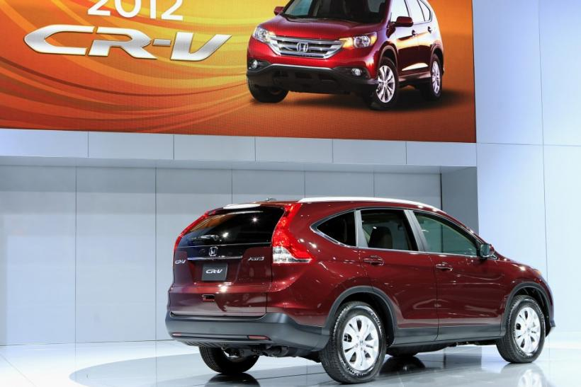 Honda to start manufacturing CR-Vs in Canada
