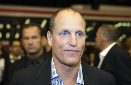 Actor Woody Harrelson