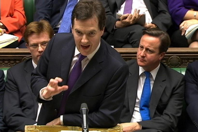 Chancellor of the Exchequer George Osborne outlines his Autumn budget