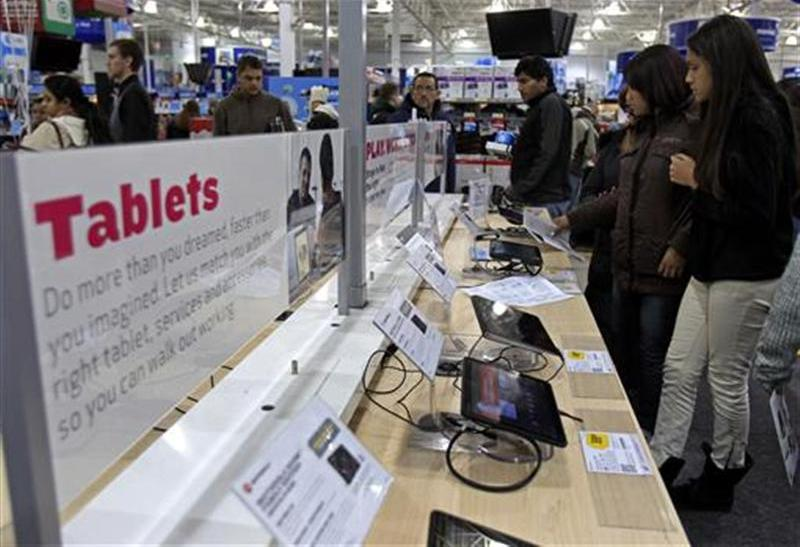 Apple iPad Leads 2012 Thanksgiving, Black Friday Online Buying