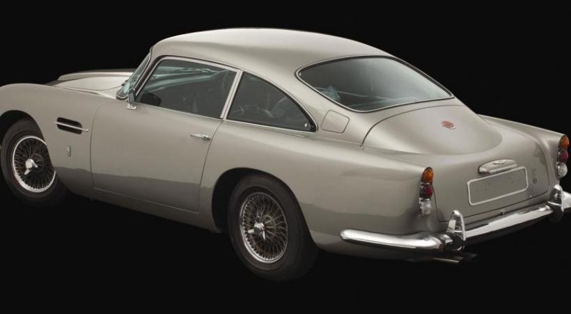 George Harrison's Aston Martin Sells at Coys For $547400