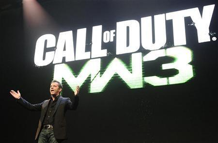 Activision Publishing CEO Eric Hirshberg speaks during the premiere of the video game ''Call of Duty: Modern Warfare 3'' in Los Angeles, California