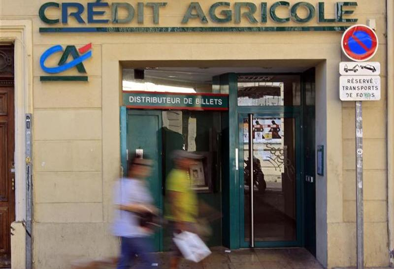 A branch of French bank Crédit Agricole in Marseille