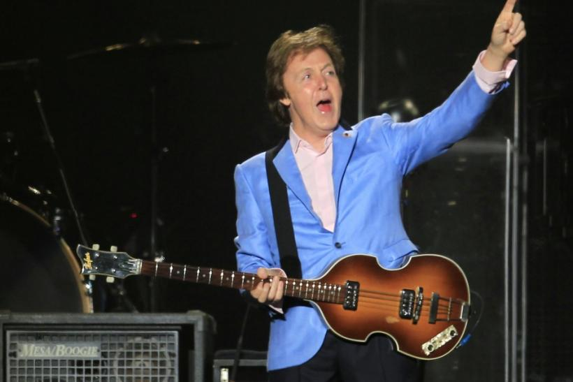 Former Beatle Paul McCartney