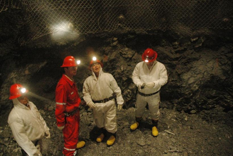 Oyu Tolgo Copper-Gold Mine Workers