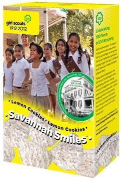 New Girl Scout Cookie Savannah Smiles