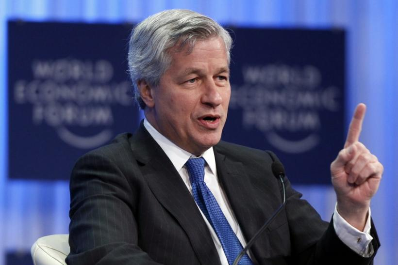 JPMorgan Chase & Co. CEO Jamie Dimon attends a session at the World Economic Forum (WEF) in Davos January 27, 2011.
