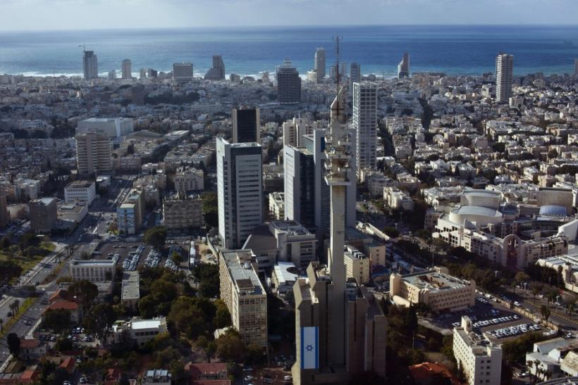 A general view shows central Tel Aviv backed by the Mediterranean Sea Jan. 23, 2012. Less than an hour away but a world apart from traditional places of pilgrimage in the Holy Land, Israel's free-wheeling city of Tel Aviv has become a Mediterranean hotspo