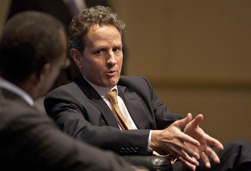 Treasury secretary timothy geithner resume