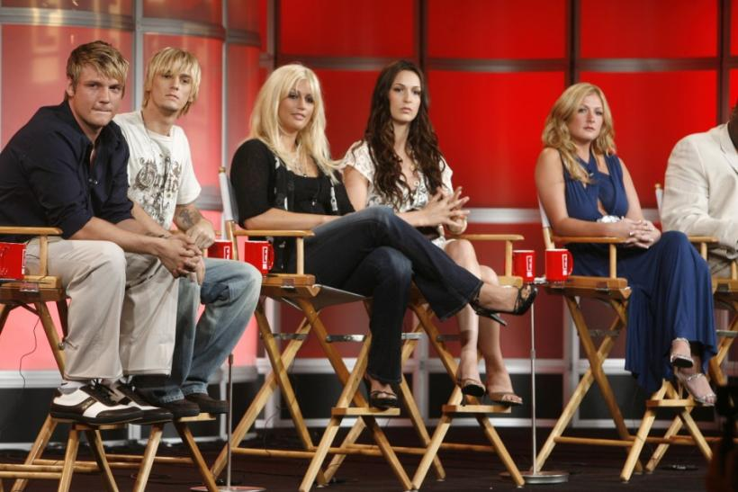 Singer Nick Carter and his brother and sisters answer questions about their new reality television program on E! Networks in California