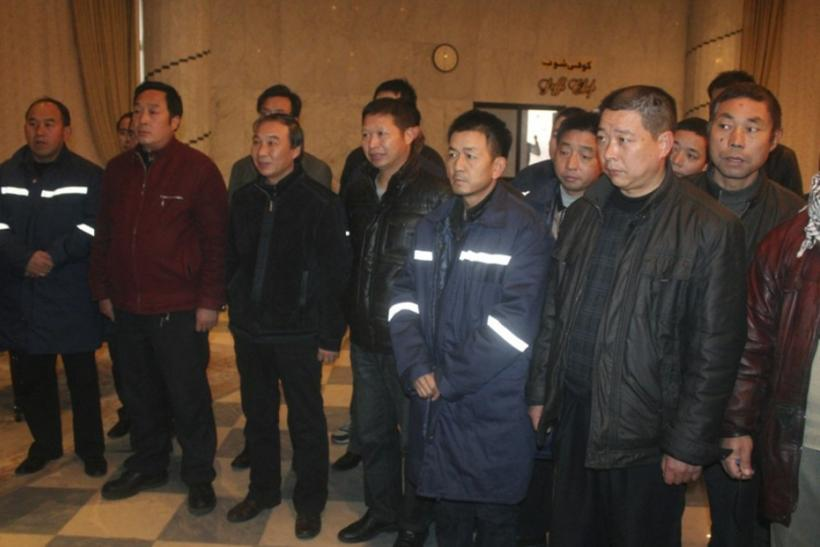 Chinese workers freed in Egypt.