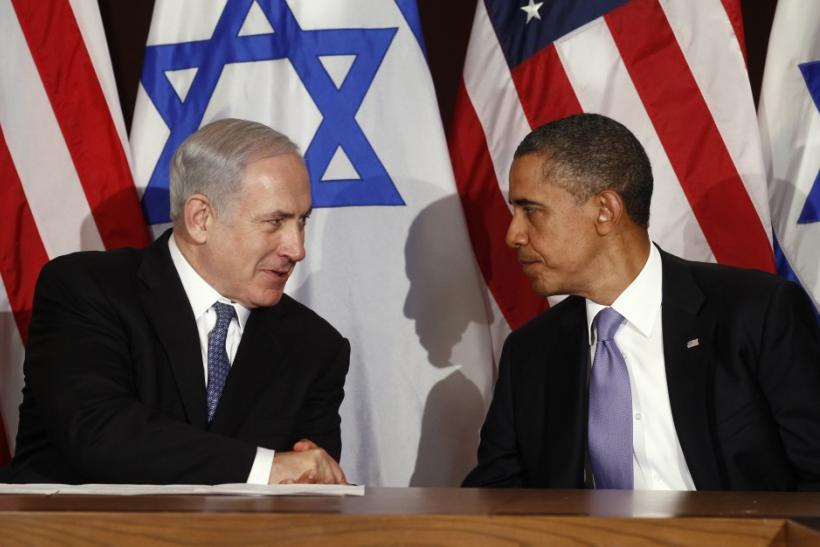 Obama meets Netanyahu at the United Nations in New York
