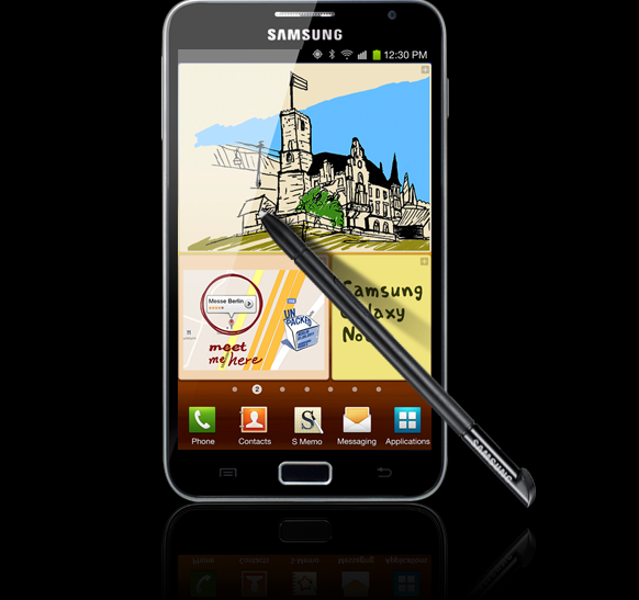 Super Bowl 2012 Features Galaxy Note: Specs of Samsung Hybrid Announced