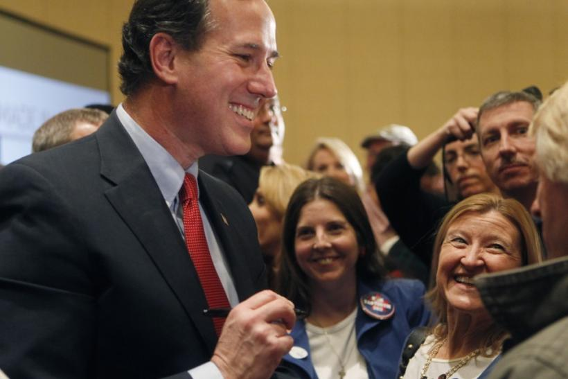 Rick Santorum Wins Colorado