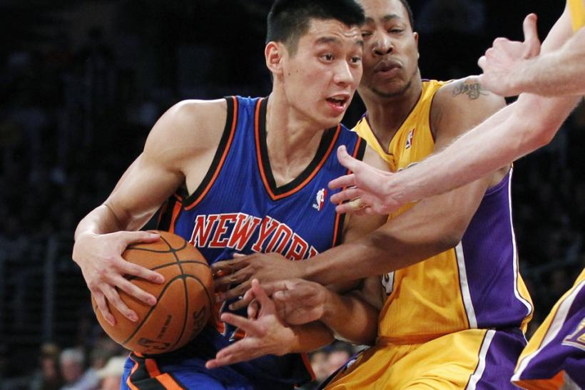 After playing in just 10 games this season, Lin played a career high 45 minutes on Monday.