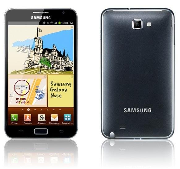 Galaxy Note on the Roll, Says Samsung, 5M Units