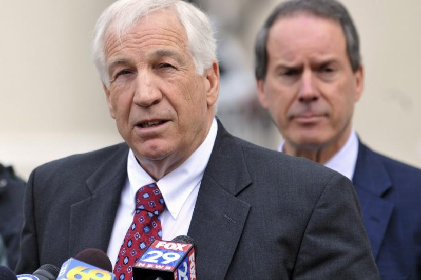 A grand jury indicted Sandusky on 40 counts of sex crimes against young boys on November 4th of last year.