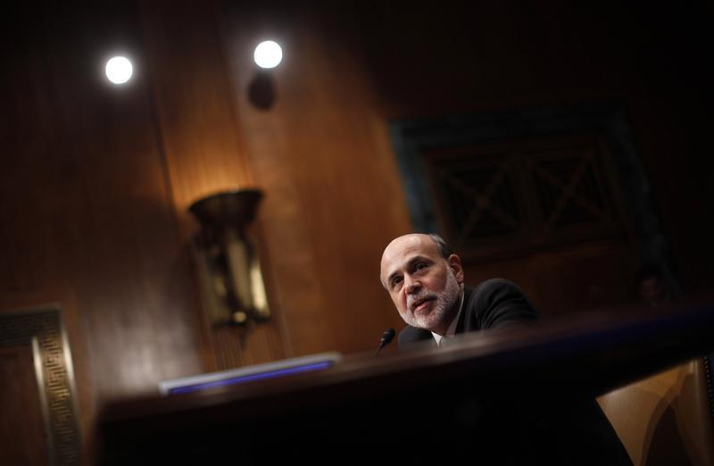 U.S. Federal Reserve Chairman Ben Bernanke testifies before a Senate Budget Committee hearing on the outlook for U.S. Monetary and Fiscal Policy on Capitol Hill