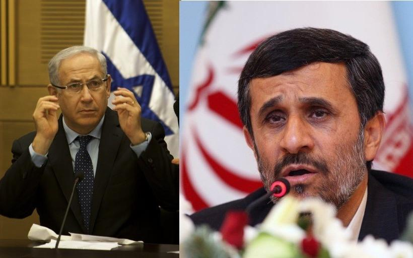 Netanyahu and Ahmedinejad