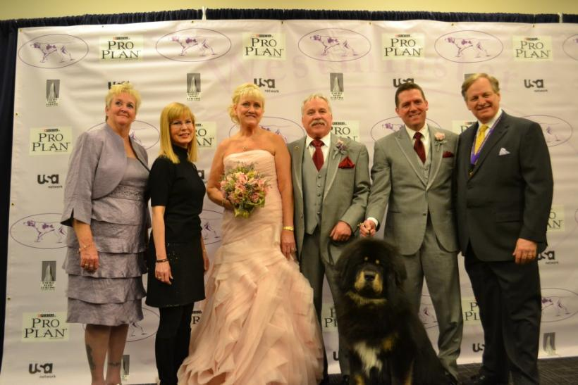 Valentine's Day Wedding at Westminster Dog Show